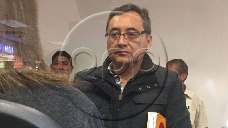 Según su abogado, Jorge Cuba se encontraba fuera del país debido a motivos médicos.