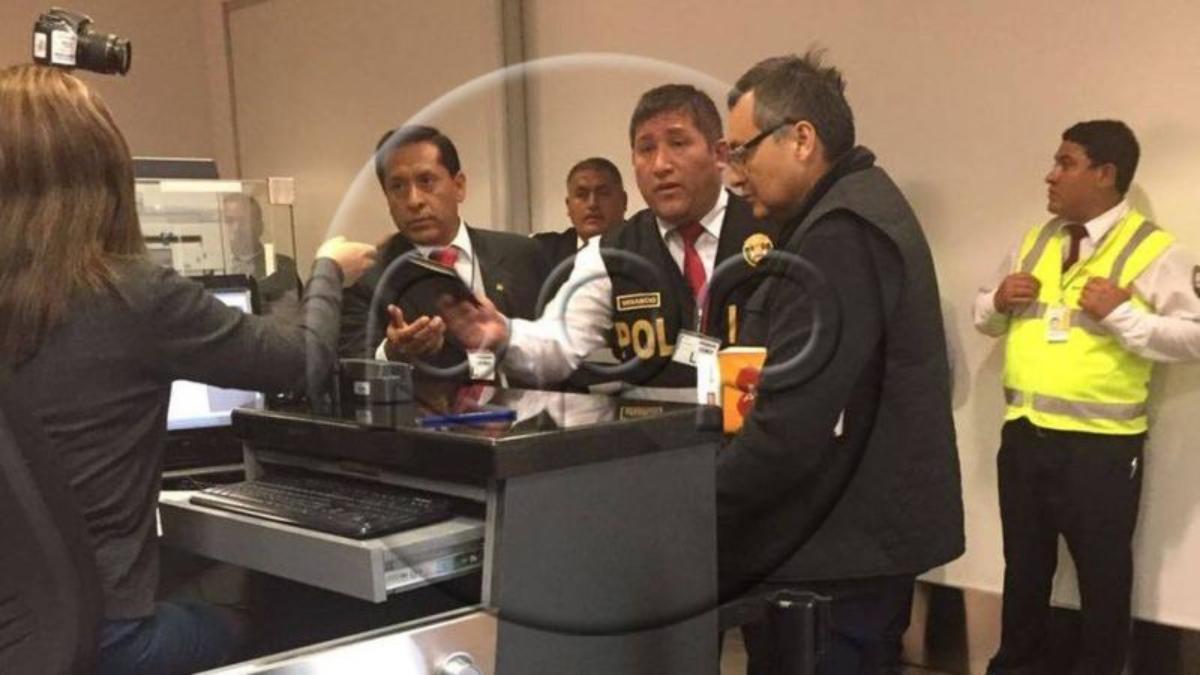 Jorge Cuba tenía previsto viajar ayer, lunes, pero no consiguió pasajes, por lo que recién llegó a la capital este martes.