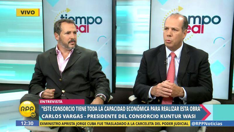 Carlos Vargas dijo que el consorcio que representa cuenta con la experiencia para administrar este terminal aéreo.