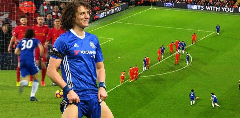 David Luiz regresó al Chelsea tras jugar tres temporada en el PSG.