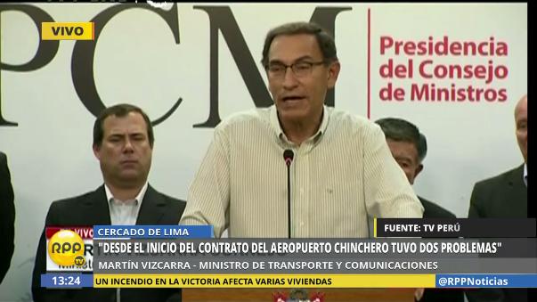 Vizcarra cuestionó el cambio de opinión en los congresistas de Fuerza Popular.