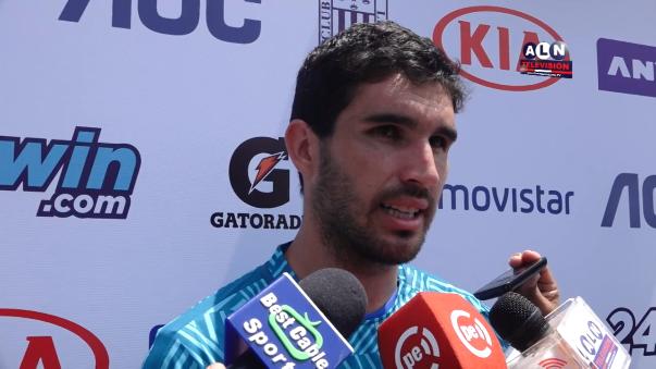 Germán Pacheco es uno de los refuerzos de Alianza Lima para la temporada 2017.