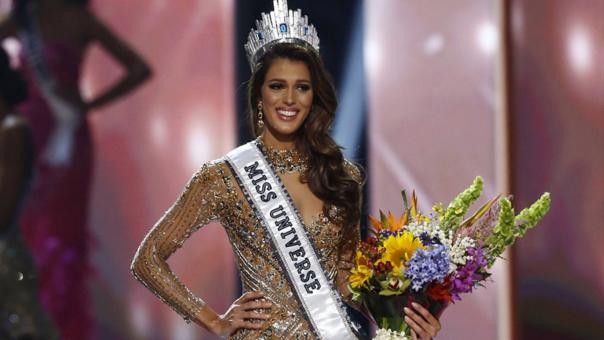 De esta forma Iris Mitteneare se coronó como Miss Universo 2016.