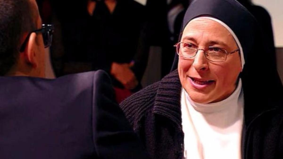 La monja respondió a la pregunta en el programa 'Chester in love'.