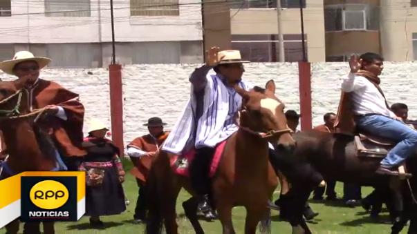 Los alcaldes ingresaran a Lima montados en caballos para atraer la atención del Gobierno Central.