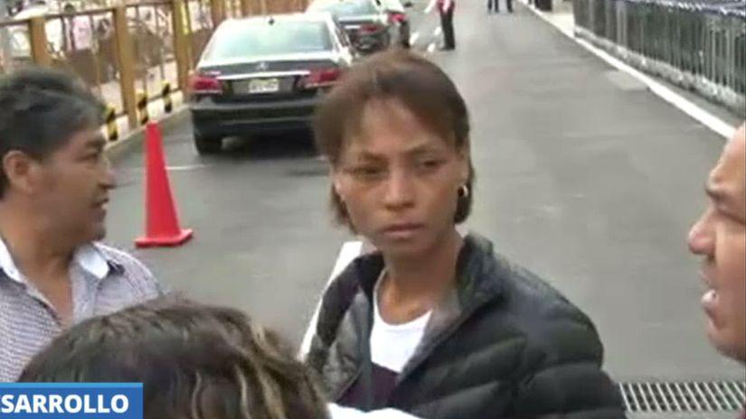 Jessica Tejada volvió a Lima tres días luego de su pareja Jorge Cuba.
