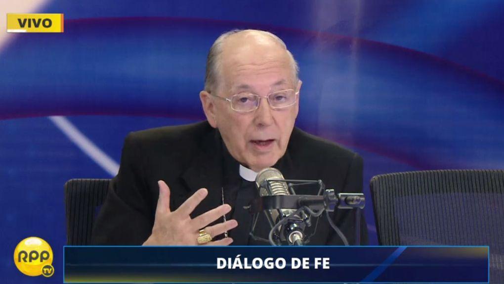 El cardenal Juan Luis Cipriani habló sobre