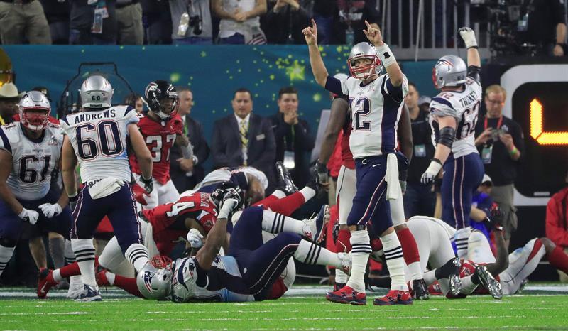 Con esta anotación los New England Patriots ganaron su quinto Super Bowl.