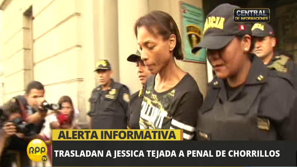 Jessica Tejada cumplirá 18 meses de prisión preventiva.