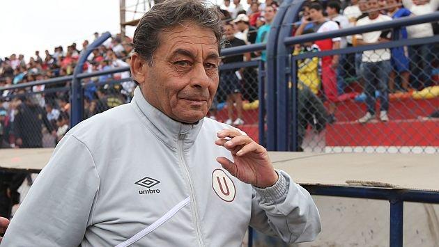 Roberto Chale es entrenador de Universitario desde mediados del 2015.