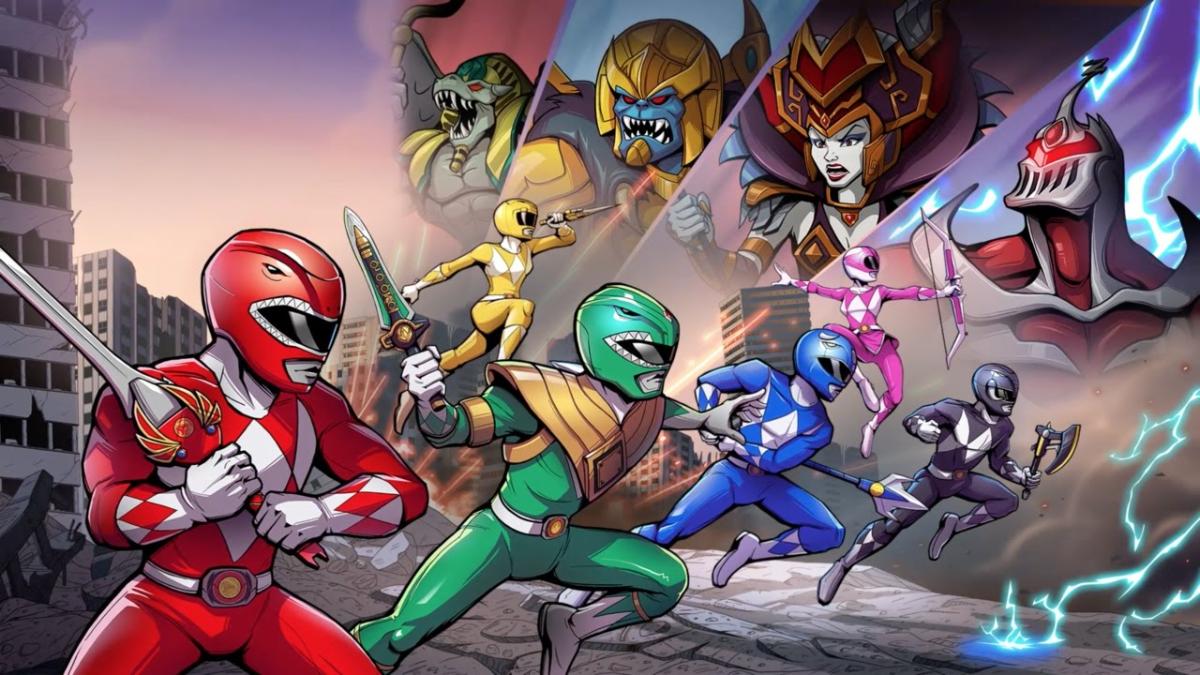 Este es el tráiler de lanzamiento de Mighty Morphin Power Rangers: Mega Battle.