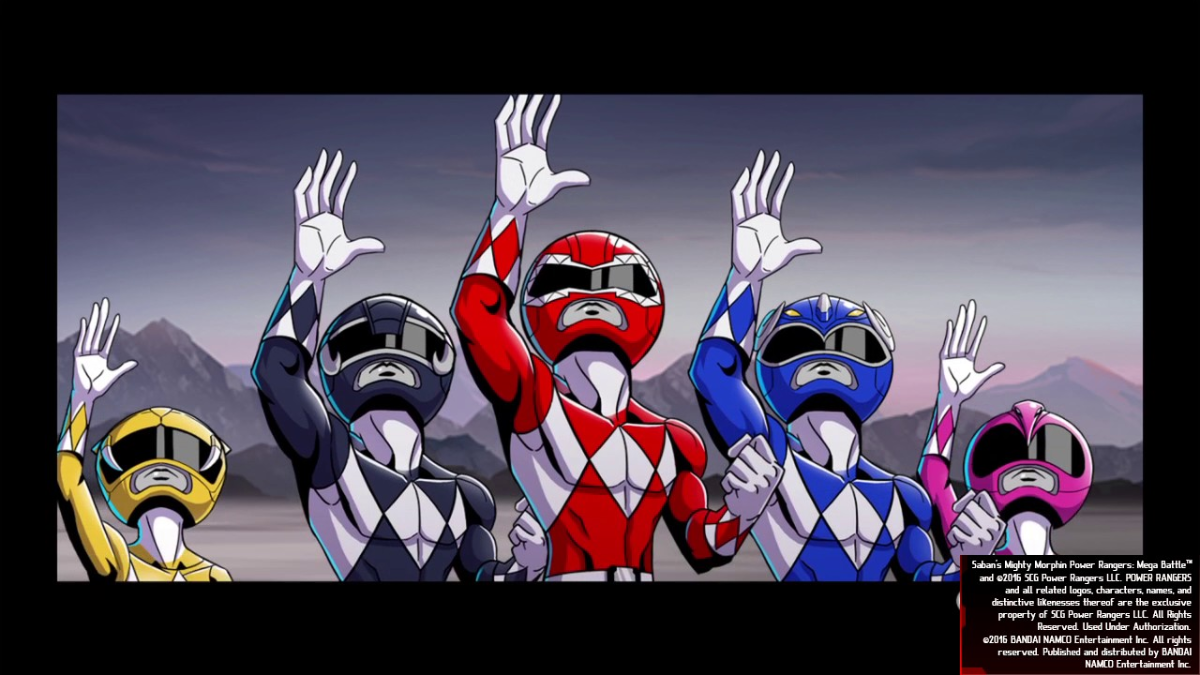 Lo mejor de Mighty Morphin Power Rangers: Mega Battle son las batallas al mando del Megazord.