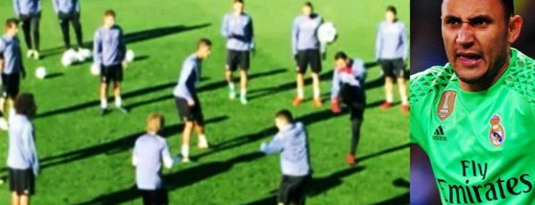 Keylor Navas llegó al Real Madrid tras su buena actuación en el Mundial Brasil 2014.