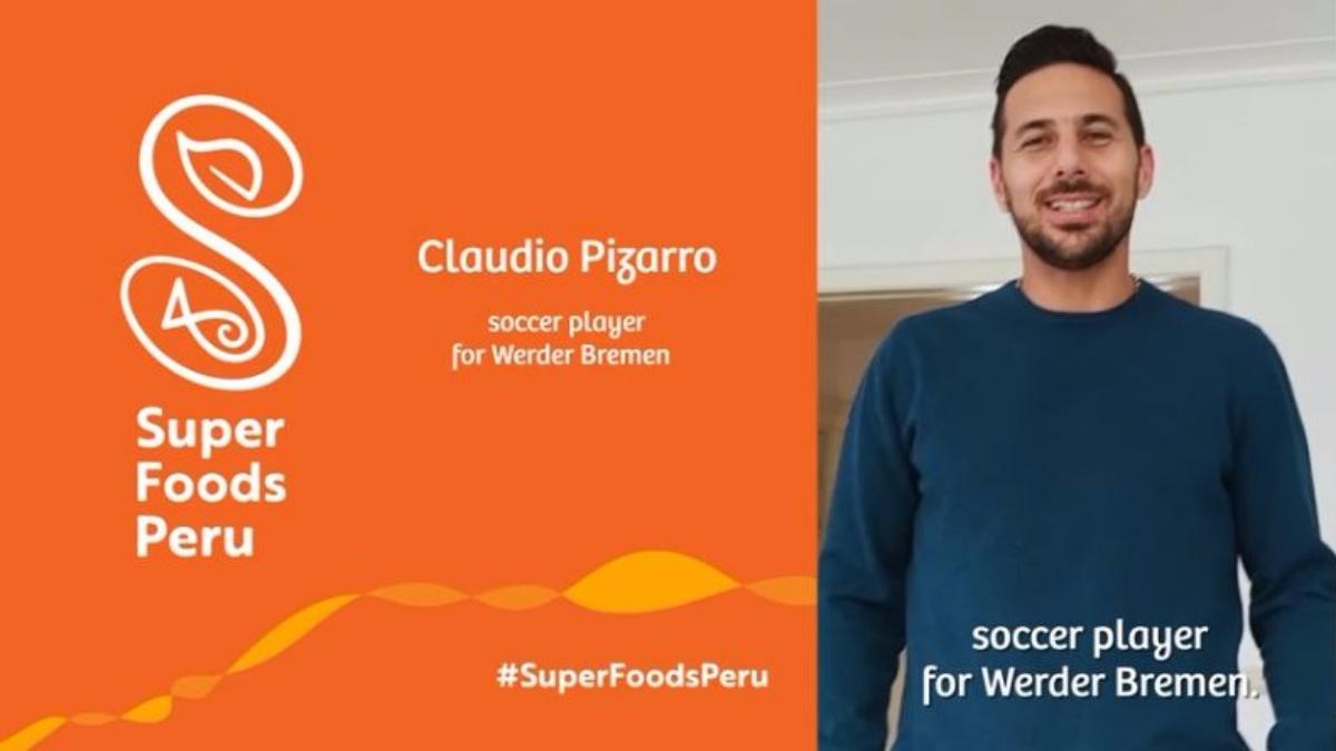 El objetivo de la campaña es enseñarle al mundo las virtudes de los superalimentos que se producen en Perú.