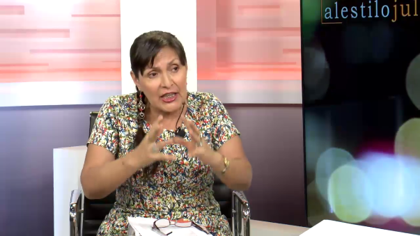 La militante aprista calificó a García de dictador antes de las elecciones de 2016.