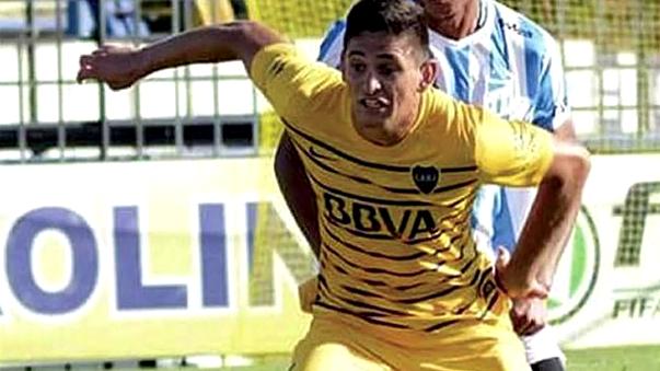 Nicolás Benegas jugó en las inferiores de Boca Juniors.