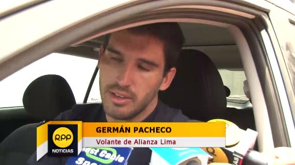 Germán Pacheco jugará su primer Clásico con camiseta de Alianza Lima.