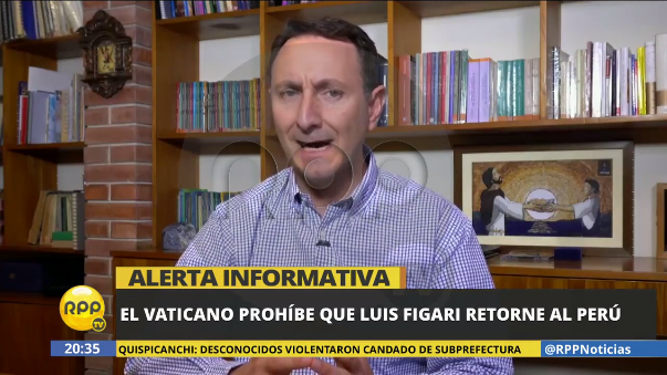 Alessandro Moroni, representante del Sodalicio de Vida Cristiana expone las razones del Vaticano y las decisiones que tomó sobre Figari.