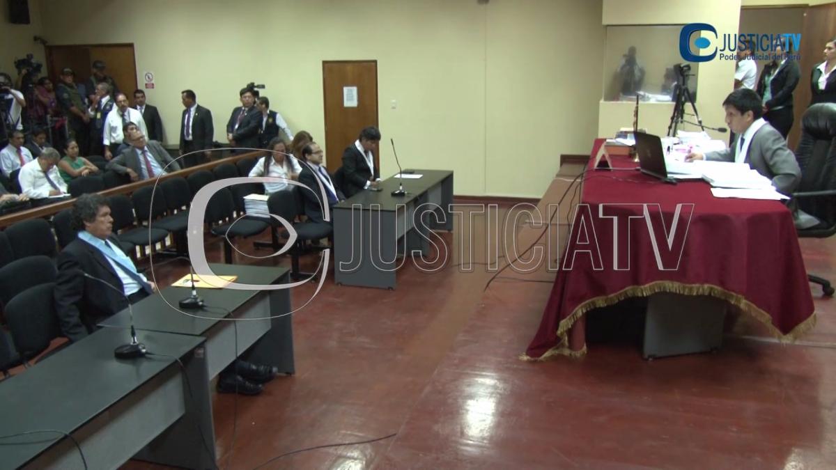 El momento en el cual se dictó la detención preventiva contra Alejandro Toledo.