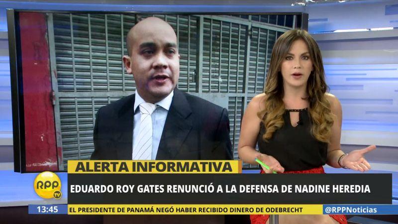 RPP Noticias ha tratado de comunicarse con el abogado para que explique los motivos de esta renuncia.