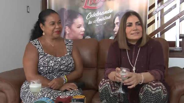 Eva Ayllón y Tania Libertad conversaron con la prensa a un día de su show