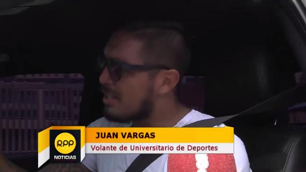 Juan Vargas quiere estar sí o sí en el Clásico.