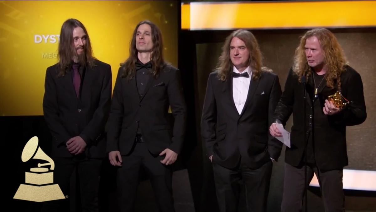 Megadeth ganó el Grammy a Mejor Metal Performance