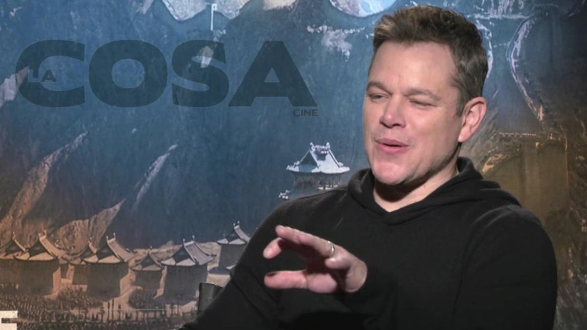 Matt Damon cantó cumbia argentina.