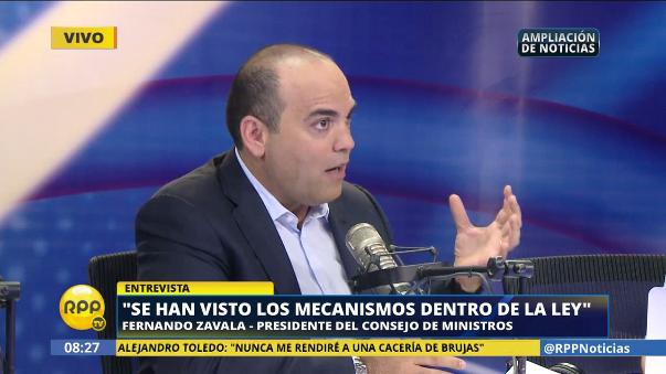 Zavala explicó que se trabajó respetando las leyes internacionales para evitar que Toledo se declare perseguido político.