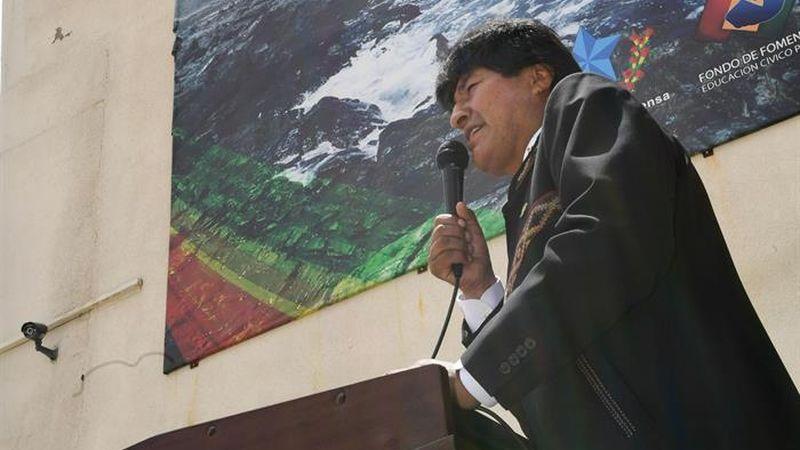 El presidente de Bolivia expresó