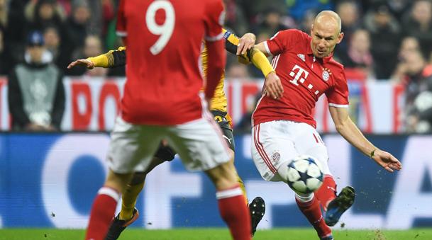 Arjen Robben llegó al Bayern Munich procedente del Real Madrid.