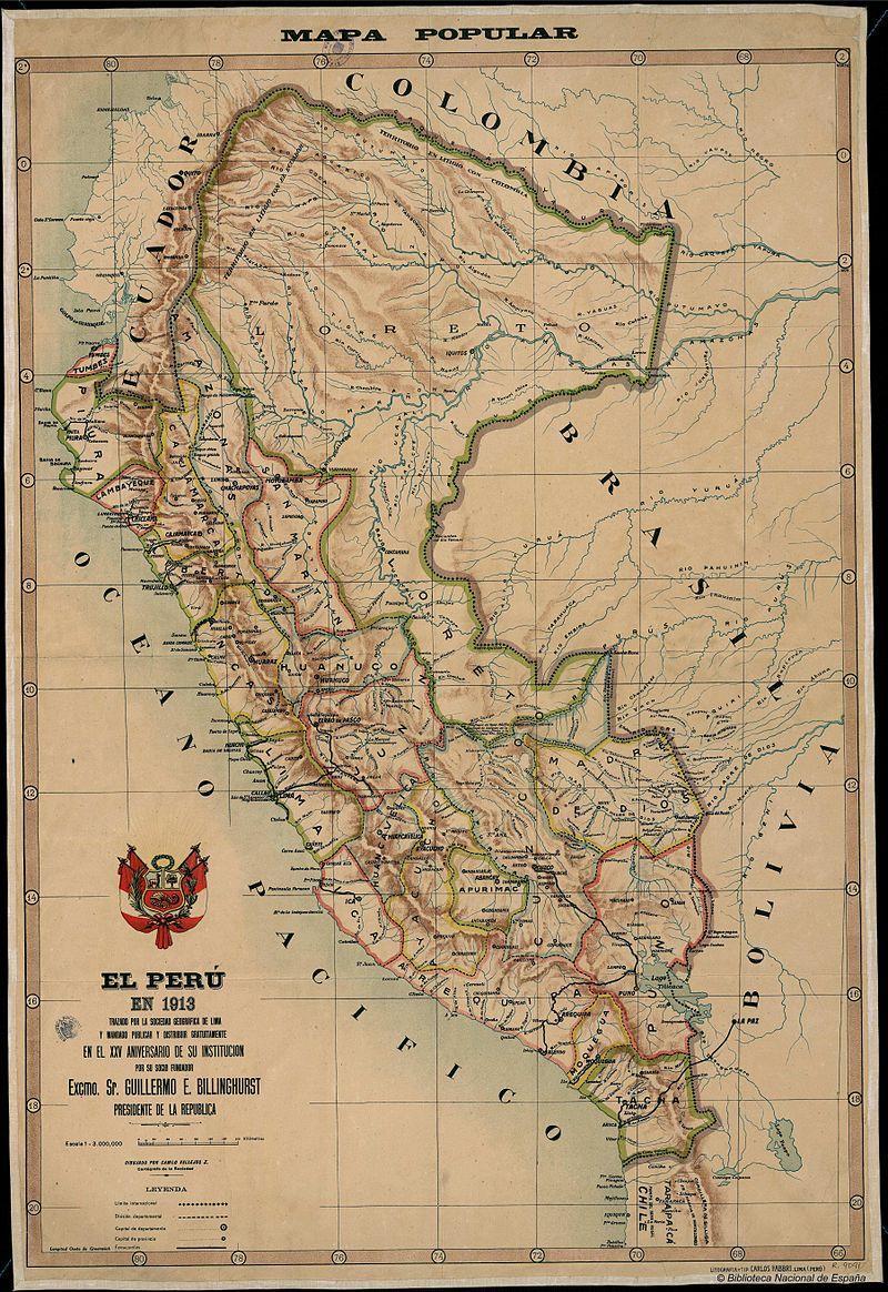 Mapa peruano
