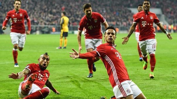 Bayern Munich definirá la llave en el Emirates Stadium.