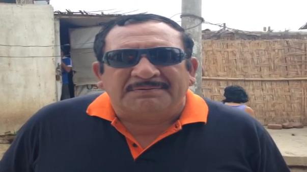 Subgerente de Defensa Civil César Chonate, informó que por lo pronto, no se realizarán trabajos de reforzamiento.