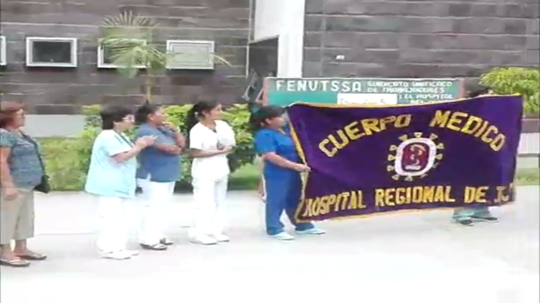 Paro de 48 horas en hospital regional de Ica.