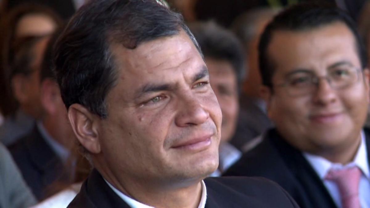 El sábado se difundió un video de despedida para Rafael Correa y fue tendencia en Ecuador con la etiqueta #TeExtrañaremosPresidente.