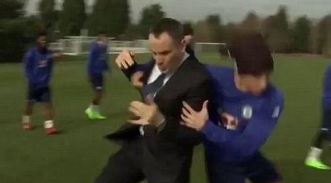 David Luiz volvió al Chelsea procedente del PSG.