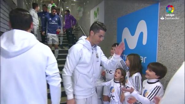 Cristiano Ronaldo lleva 13 goles en la presente edición de la Liga Santander.