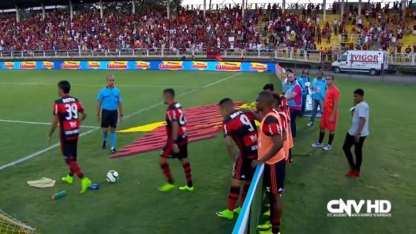 Flamengo ha ganado todos sus partidos oficiales en 2017.