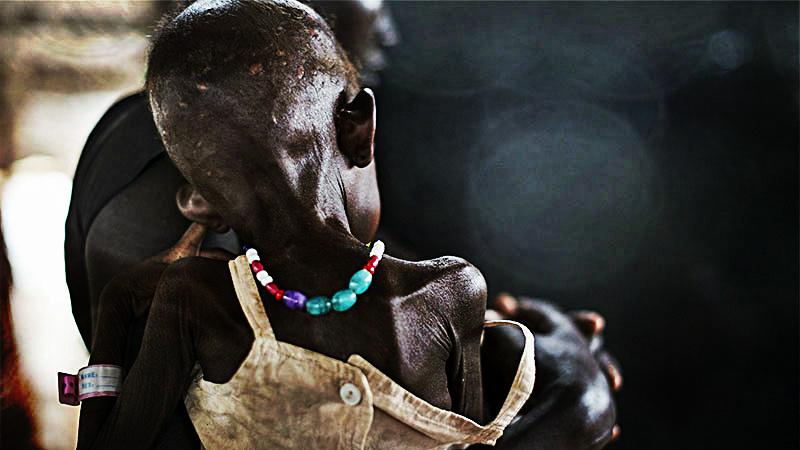 En Sudán del Sur cerca de un millón de personas están en al borde de la hambruna por la falta de ayuda humanitaria que el Gobierno no permite ingresar.