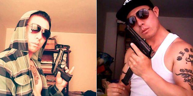 El asesino de Independencia mostraba su gusto por las armas en su cuenta personal de Facebook.
