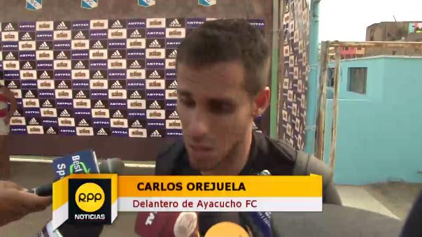 Carlos Orejuela fue duro con el arbitraje.