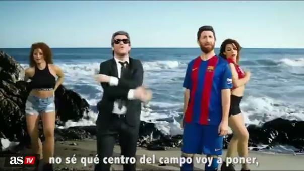 Lionel Messi es el goleador de la actual Champions con 10 anotaciones.