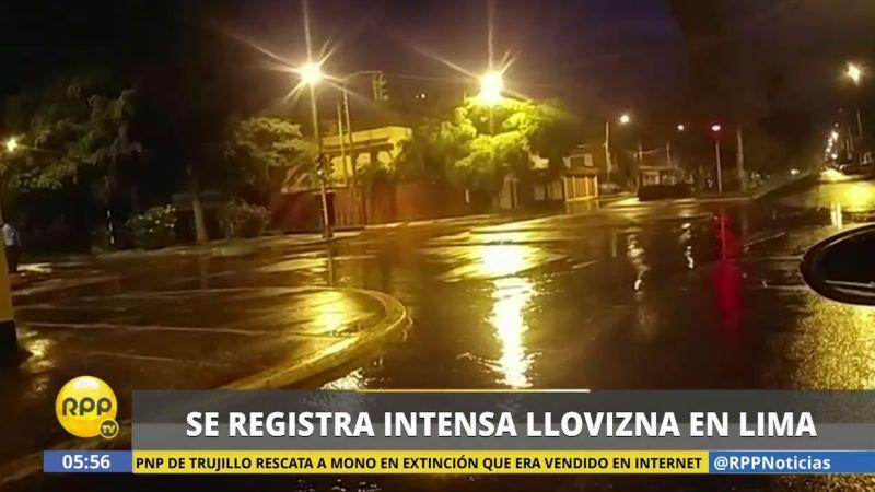 Usuarios de las redes sociales de RPP Noticias reportaron la llovizna desde varios puntos de la capital.