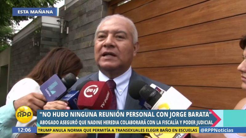 Pedraza dijo que, desde la perspectiva del Partido Nacionalista, los aportes recibidos fueron declarados en su oportunidad ante la ONPE.