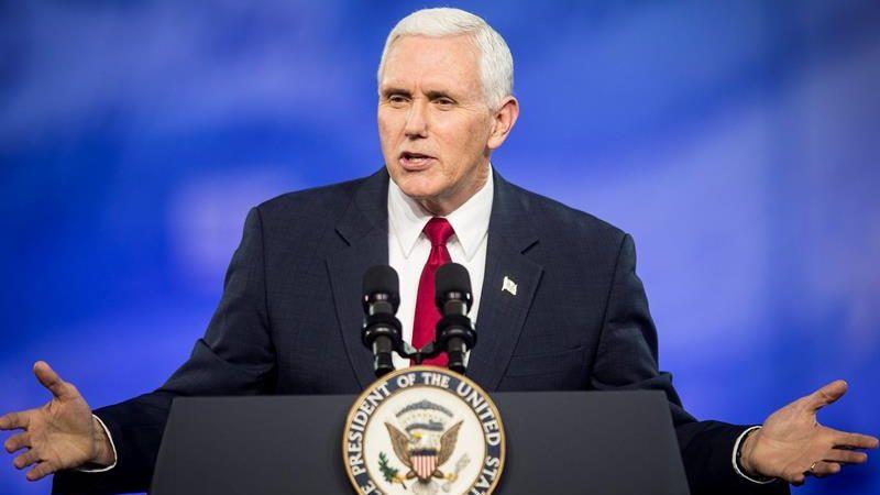 El vicepresidente de EE.UU. dio un discurso en la Conferencia anual de Acción Política Conservadora.