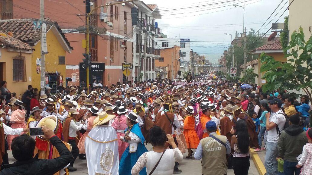 Se iniciaron carnavales en Ayacucho.
