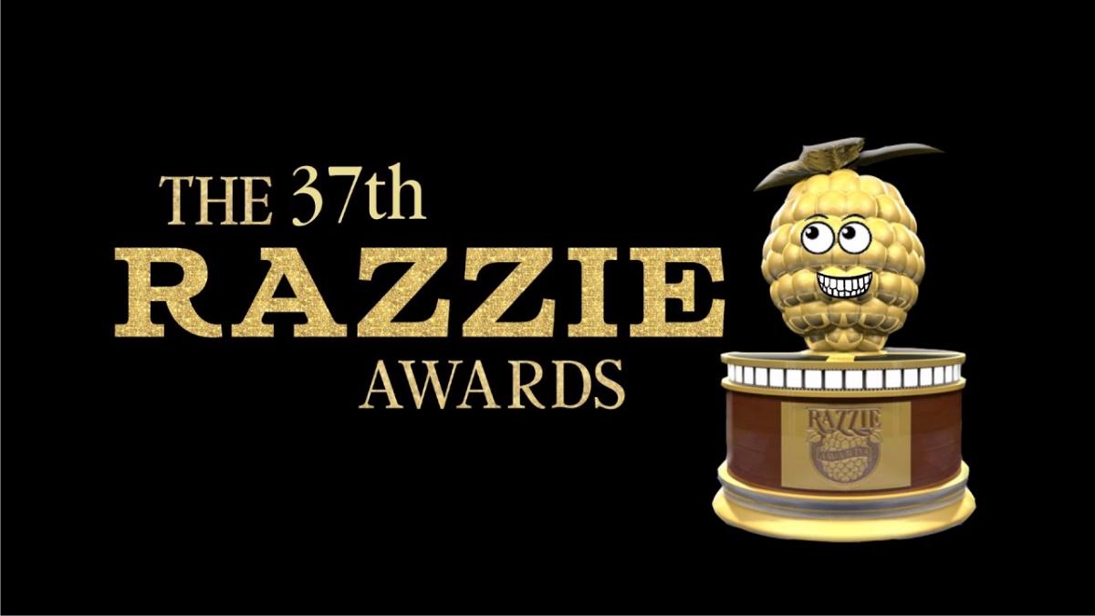 Este es el anuncio oficial de los ganadores de 'The 37th Razzie Awards'