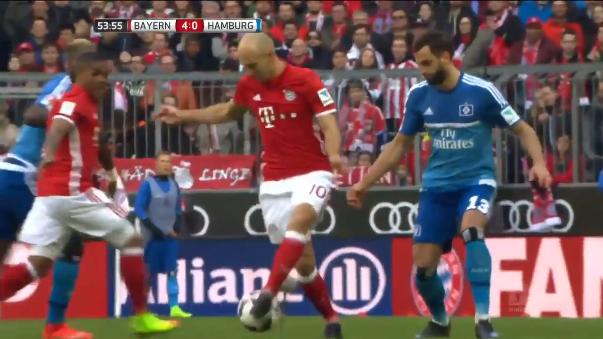 El partido terminó con goleada de 8-0 a favor del Bayern Munich.