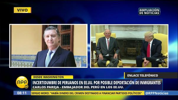 El funcionario dijo que el Gobierno peruano cumplió los objetivos que se había planteado para la reunión con Trump.